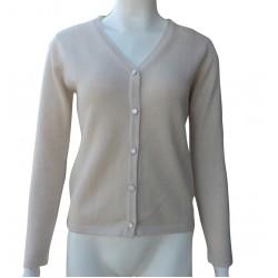 Ladies Cashmere Cardigan Sweater