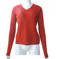 Cashmere  Pashmina Woman V neck Sweater
