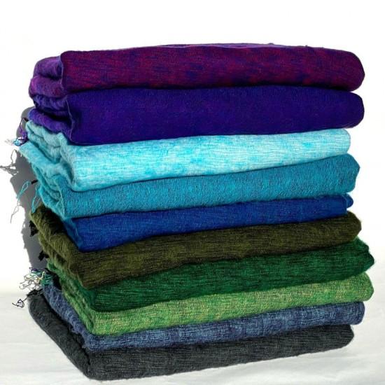 Yak Wool Throws Meditation Wrap Blanket